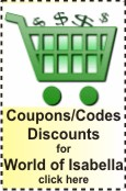 World of Isabella Coupons